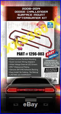 ORACLE Dodge Challenger 08-14 LED Taillight Halo Rings SURFACE MOUNT Waterproof