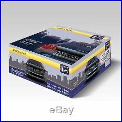 Original JOM VOLL LED Rückleuchten Schwarz Smoke SET für Audi A4 8E B7 Avant
