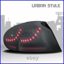 Original Jom Urban LED Rear Lights Black Smoke Set For VW GOLF 5 V MK5 Soda