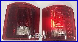 Pair (2) Sequential Tail Lights LED Brake for 1973-1987 Chevrolet Pickup Truck