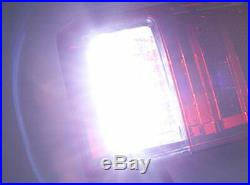 Pair Clear Red LED Tail Lamp Rear Light For Toyota Landcruiser 100 Series 00-07