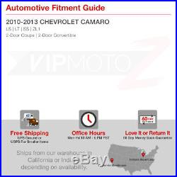 Plug&Play 2010-2013 Chevy Camaro 4PCS LAMBO STYLE Full LED Tail Lights Lamps