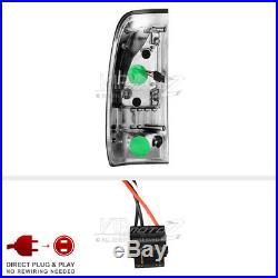 Plug&Play Smoke NEON TUBE LED Tail Light SET 97-03 Ford F150 -07 Superduty