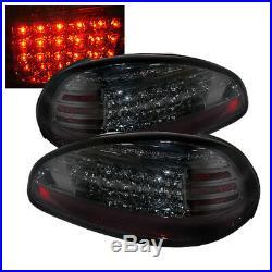 Pontiac 97-03 Grand Prix Smoke LED Rear Tail Lights Brake Lamp Set GTP GT SE