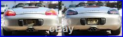 Porsche 986 Boxster 718 Style LED Tail Lights (Clear Lens) New Release