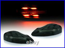 Porsche 986 Boxster 718 Style LED Tail Lights (Smoke Lens) New Release