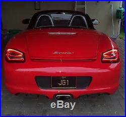 Porsche 987 Boxster Cayman 2nd Gen 981 style LED Tail Lights