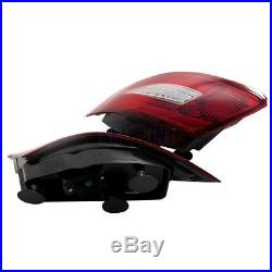 Porsche 987 Boxster (s) / Cayman (s) 05-08 LED Tail Light Rear Lamp Red / Clear