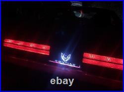RGB Firebird/Trans-am light up taillight logo panel 82-92 KIT READ DESCRIPTION
