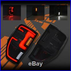 Raptor Style 3D Stripe Bar Full LED Tail Lights for Ford Ranger PX T6 11-19 UTE