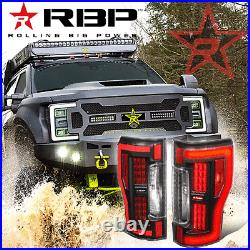 Rbp Tl565-nld Sequential Led Turn Signal Tail Lights For 17-19 Ford F250 F350