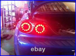 Re Amemiya Rear Led Stop Brake Tail Turn Signal Light Carbon For Mazda 04-08 Rx8