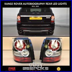 Rear Led Tail Back Lights Upgrade Pair For Range Rover Sport 2005-2013