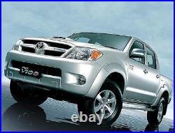 Rear Smoke Led Tail Lights Lamp Fit For Toyota Hilux Vigo Sr5 Mk6 Mk7 2005-2014