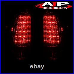 Red LED Tail Light Lamps For 99 00 01 02 03 04 05 06 Chevy Silverado Gmc Sierra
