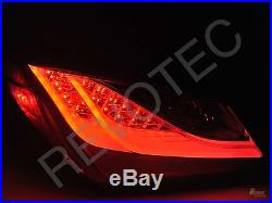 Red LED Tail Lights Lamps For 2010-2012 Genesis Coupe 2Dr Plug & Play