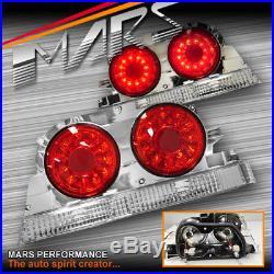 Red LED Tail Lights for Nissan R33 Skyline Coupe GTS-T GT-R GT-T RB250DET JDM