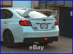 Red Lens F1 Style LED Rear Fog Light Brake/Tail Lamp For Subaru WRX STi XV
