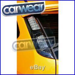 SMOKE LED Tail Lights Ford Focus LS 2005-2008 5 Door Zetec XR5 Turbo