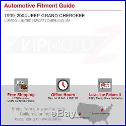 SMOKE LEFT+RIGHT 99-04 JEEP Grand Cherokee Laredo Limited Brake Tail Light LED