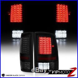 SO COOL 2009-2017 Dodge Ram 1500 2500 3500 Smoke Black LED Backup Tail Lights