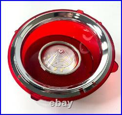 Set LED Brake Tail & Reverse Lights with Trim For 1970-1973 Chevy Camaro