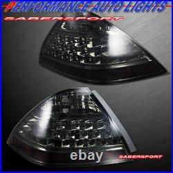 Set of Pair Smoke Lens OE Style Taillights for 2006-2007 Honda Accord 4dr Sedan