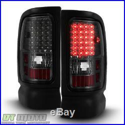 Smoke 1994-2001 Dodge Ram 1500 2500 3500 pickup LED Tail Lights Lamps Left+Right