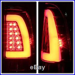 Smoke 1997-2003 Ford F150 1999-07 F250 SD LED Light Bar Tail Lights Brake Lamps