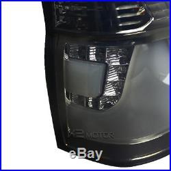 Smoke 2000-2006 BMW E53 X5 LED Rear Stop Brake Lamps Tail Lights Left+Right