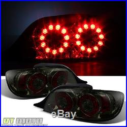 Smoke 2004-2008 Mazda Rx-8 Rx8 LED Tail Lights Rear Brake Lamps 04-08 Left+Right