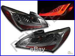 Smoke LED Tail Lights Lamps For 2010-2012 Genesis Coupe 2Dr RH & LH