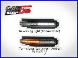 Smoke Lens 4 in 1 LED Turn Signal Backup Brake Light Fits 03-09 Nissan 350Z