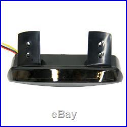 Smoke Rear LED Turn Signal Tail Light Brake Stop For Motorcycle Bobber Chopper G