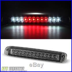 Smoked 2003-2006 Chevy Silverado 1500 LED Tail Lights+LED 3rd Brake Cargo Lamp