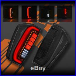 Smoked Black 3D Stripe Bar LED Tail Lights for Nissan NAVARA NP300 UTE D23 15-19