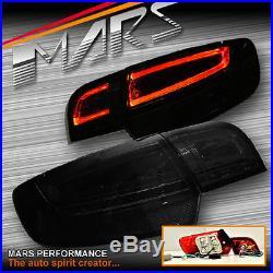 Smoked Black LED 3D Stripe Bar Tail Lights for AUDI A3 8P HatchBack 05-08