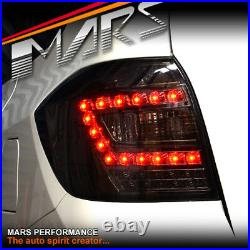 Smoked Black LED Tail lights for Toyota HighLander Kluger 07-10 Taillight 4x4
