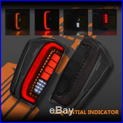 Smoked Full LED & Sequential Indicator Tail Lights for Nissan NAVARA NP300 D23