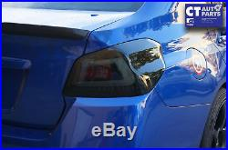 Smoked Full LED Tail lights for 2015+ Subaru WRX STI Dynamic Signal