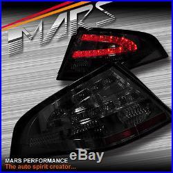 Smoked LED Tail Lights Ford Falcon FPV FG Sedan G6E Turbo XT XR6 XR8 BOSS GT GS