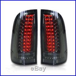 Smoked LED Tail Lights for Toyota Hilux SR5 VIGO MK6 2004-2014 Smoke Rear Lamp