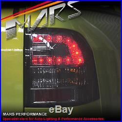 Smoked LED Tail lights Holden Commodore VE UTE Omega SV6 SS-V Thunder HSV Maloo