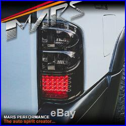 Smoked LED Tail lights for Nissan Patrol GU 97-04 4WD 4x4 Series 1 2 3