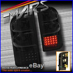 Smoked LED Tail lights for Nissan Patrol GU 97-04 Taillight 4WD 4x4 Series 1 2 3