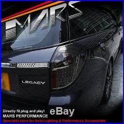 Smoked LED Tail lights for Subaru 4GEN Liberty Legacy OutBack 03-09 Wagon JDM