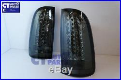Smoked LED Tail lights for Toyota Hilux SR5 VIGO MK6 04-14 Taillight