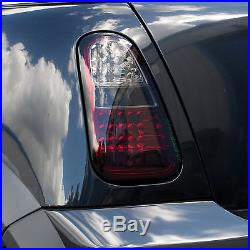 Smoked LED rear lights for BMW Mini One & Cooper tail lamp s R50 convertible
