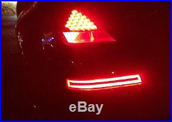Smoked Lens All-In-One LED Turn Signal, Backup, Brake Lamp For 03-09 Nissan 350Z