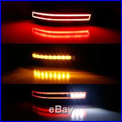 Smoked Lens Sequential LED Turn Signal, Backup, Brake Lamp For 03-09 Nissan 350Z
